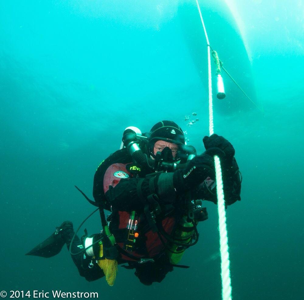 TDI Air Diluent CCR Decompression Procedures Diver Course