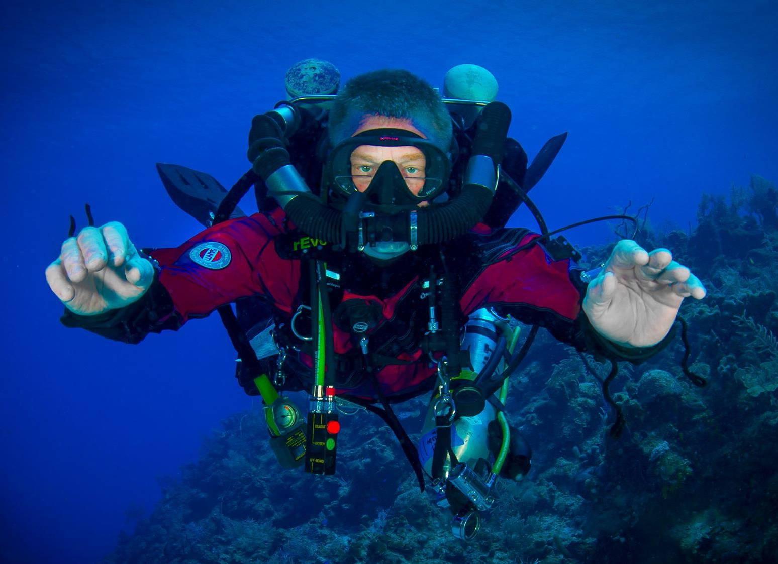 TDI Air Diluent CCR Diver Course (Closed Circuit Rebreather)