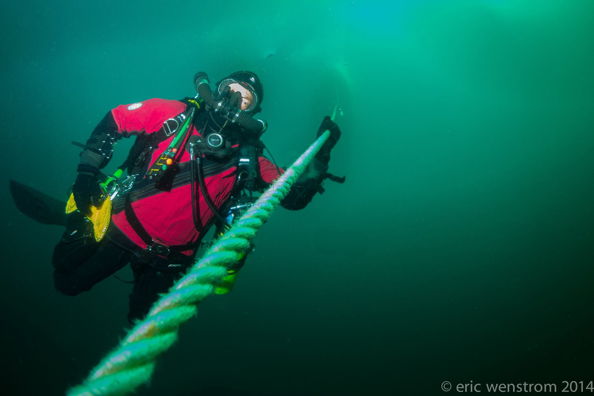 TDI Mixed Gas Closed Circuit Rebreather Diver Course